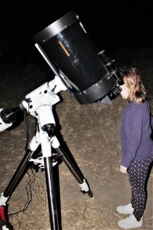 Observación astronómica de Aula del Cielo