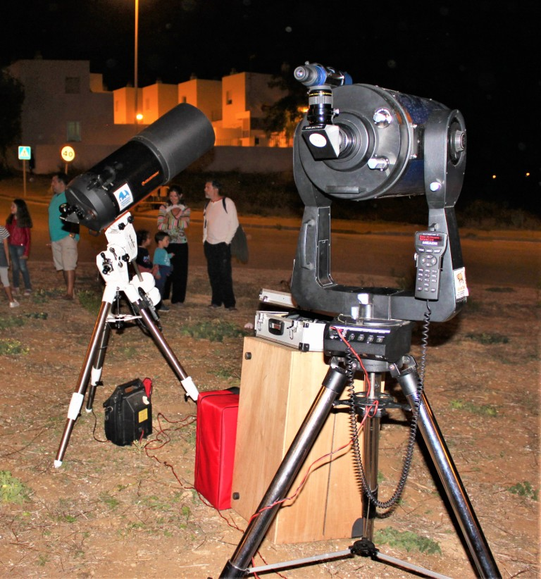 Planetario al aire libre