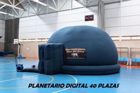 planetario digital de 40 plazas